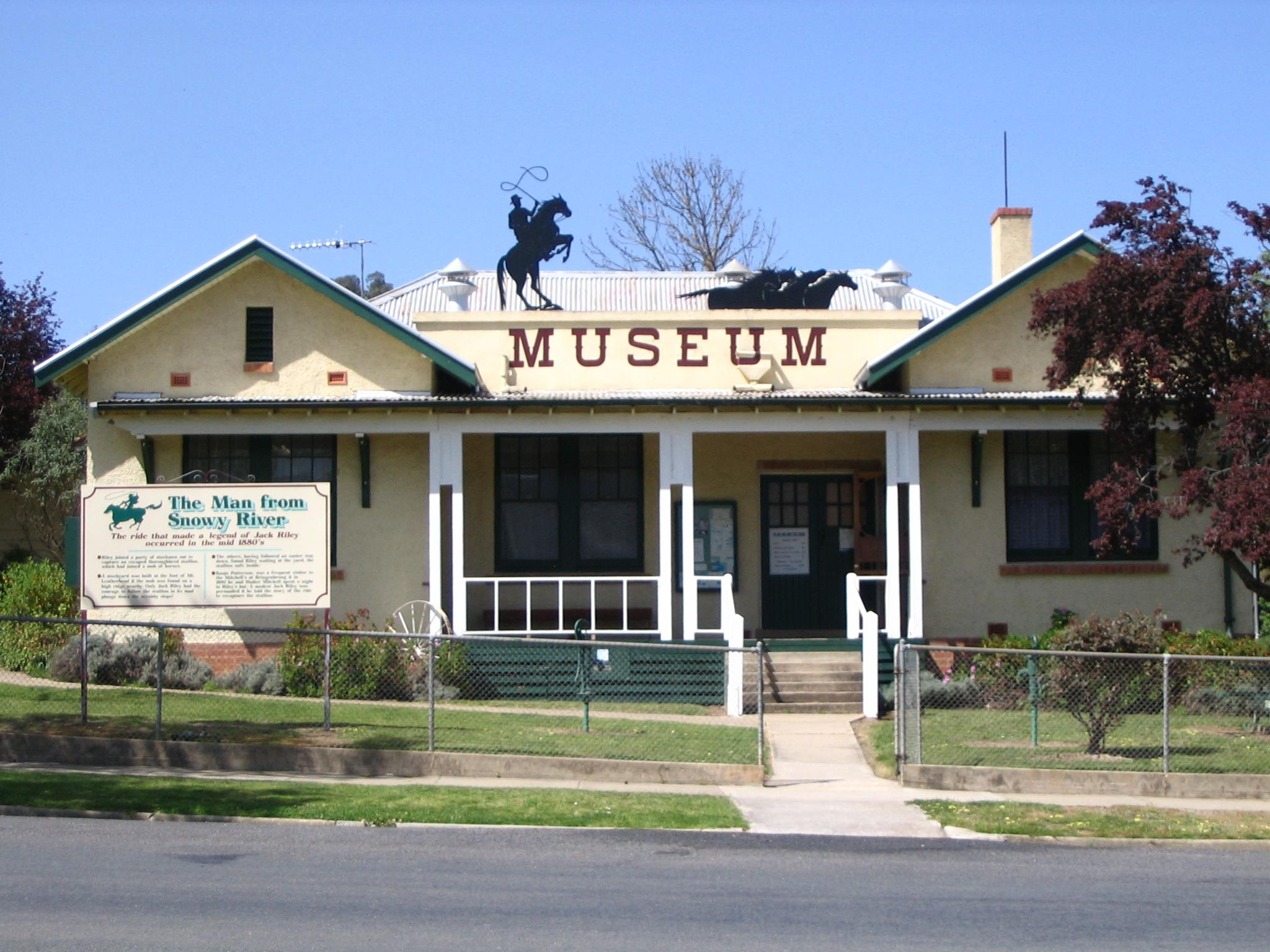 Man From Snowy River Museum Corryong » High Country Directory